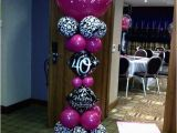 Pink 40th Birthday Decorations Damask Party 40th Birthday and Damasks On Pinterest