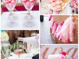 Pink 40th Birthday Decorations Glamorous Pink Gold 40th Birthday Party