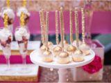 Pink 40th Birthday Decorations Kara 39 S Party Ideas Glamorous Pink Gold 40th Birthday