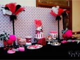 Pink 40th Birthday Decorations And Black Party 1 Desktop Wallpaper