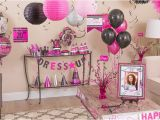 Pink Decorations for Birthday Parties Black Pink Birthday Party Supplies Party City
