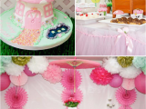 Pink Decorations for Birthday Parties Kara 39 S Party Ideas Pink Fairy Girl Woodland Tinkerbell