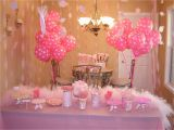Pink Decorations for Birthday Parties Pink 1st Birthday Party Decorations Fun Food