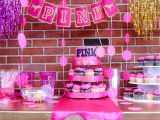 Pink Decorations for Birthday Parties Pink Vs Birthday Birthday Quot Aemilia 39 S 12th Pink Birthday