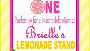 Pink Lemonade Birthday Invitations Pink Lemonade Birthday Invitation Pink Lemondade Birthday