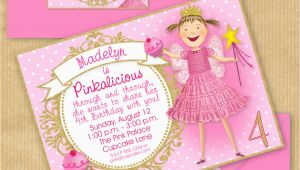 Pinkalicious Birthday Invitations Pinkalicious Party Invitation 5×7 with by Yourprintableparty