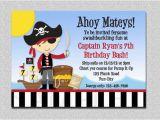 Pirate 1st Birthday Invitations Birthday Invites How to Create Pirate Birthday Party