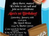 Pirate 1st Birthday Invitations Pirate 1st Birthday Invitations Lijicinu E8535bf9eba6