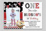 Pirate 1st Birthday Invitations Pirate Birthday Invitation Boys Pirate Birthday Invitation