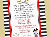 Pirate Birthday Invitation Wording Pirate Birthday Party Invitation Wording