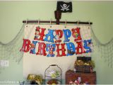 Pirate Birthday Party Decoration Ideas Jake and the Neverland Pirates Party Decorations events