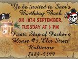 Pirate Birthday Party Invitation Wording Avast Here are 9 Really Freaky Pirate Party Invitation