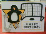 Pittsburgh Penguins Birthday Card Elaine Creates Penguin Birthday Card