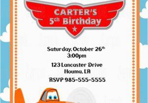 Plane Birthday Invitations Printable Planes Party Invitation Plus Free Blank