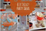 Planes Birthday Decorations Boy 39 S Plane themed Birthday Party Ideas Spaceships and