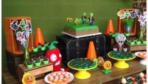 Plants Vs Zombies Birthday Decorations Kara 39 S Party Ideas Plants Vs Zombies themed Birthday Party
