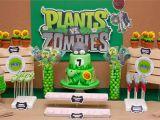 Plants Vs Zombies Birthday Decorations Plants Vs Zombies Birthday Zoe Pea Sweets