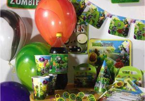 Plants Vs Zombies Birthday Decorations Plants Vs Zombies Themed