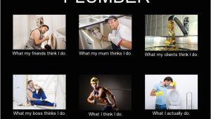 Plumber Birthday Meme Plumber Meme What I Think I Do Plumbers In 2019