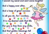 Poems for A Birthday Girl Birthday Fairy Poem Message for A Girl Rooftop Post