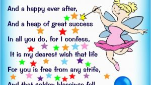 Poems for Birthday Girl Birthday Fairy Poem Message for A Girl Rooftop Post