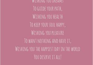 Poems for Birthday Girls 52 Best Happy Birthday Poems My Happy Birthday Wishes