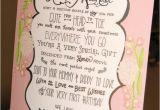 Poems for Birthday Girls Items Similar to Baby Girl 1st Birthday Poem Personalized