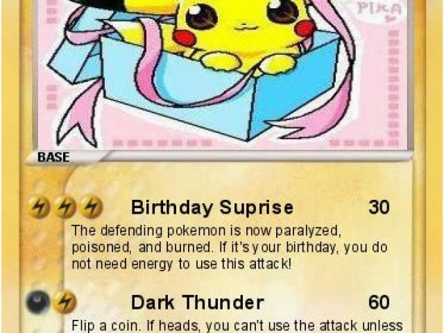 Download By SizeHandphone Tablet Desktop Original Size Back To Pokemon Birthday