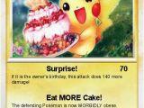 Pokemon Birthday Card Maker Pokemon Birthday Pikachu 5 5 Surprise My Pokemon Card