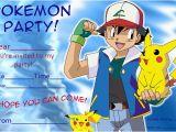 Pokemon Birthday Invitation Templates Free 50 Free Birthday Invitation Templates You Will Love