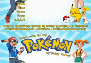 picture relating to Free Printable Pokemon Birthday Invitations identify Pokemon Birthday Invitation Templates Cost-free No cost Printable