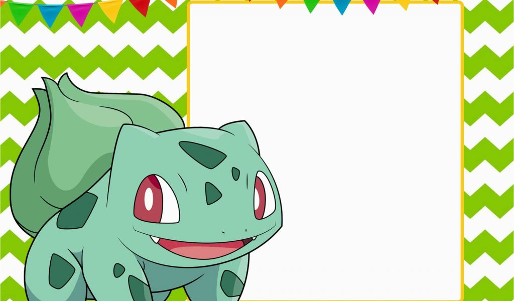 picture about Printable Pokemon Birthday Invitations titled Pokemon Birthday Invitation Templates Cost-free Absolutely free Printable