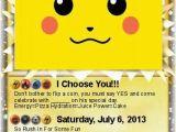 Pokemon Birthday Invitation Templates Free Pokemon Birthday Invitation orderecigsjuice Info