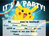 Pokemon Birthday Invitation Templates Free Pokemon Birthday Invitation Templates Free Cleaning