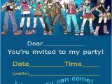 Pokemon Birthday Invitation Templates Free Pokemon Invitation Printable Free