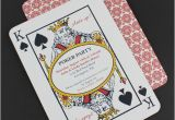 Poker Birthday Party Invitations Poker Night Invitation Template Download Print