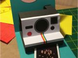 Polaroid Camera Pop Up Birthday Card with Printable Template 25 Best Ideas About Diy Birthday Cards On Pinterest