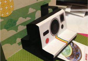 Polaroid Camera Pop Up Birthday Card with Printable Template the 25 Best Polaroid Template Ideas On Pinterest