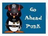 Police Birthday Cards Evil Penguin Police Birthday Card Zazzle Co Uk