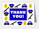 Police Birthday Cards Police Kids Stationery Cards Invitations Greeting