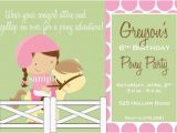 Pony Ride Birthday Invitations 87 Best Unicorn Pony Party Images On Pinterest Birthdays