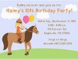 Pony Ride Birthday Invitations Horseback Riding Birthday Party Invitations Horse Pony