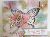 Pop Up 80th Birthday Cards Painted Mountain Cards 80th Birthday butterfly Pop Up Card