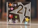 Popular Birthday Gifts for Him Happy 21st Birthday Gifts Idea Spaceform Glass Keepsake