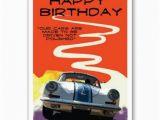 Porsche Birthday Card 356 Porsche Birthday Card by Hi Octane Industries Men