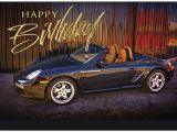 Porsche Birthday Card Birthday Porsche Auto Birthday Cards Posty Cards