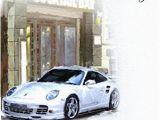 Porsche Birthday Card Greeting Card Icg4707 Husband Birthday White Porsche
