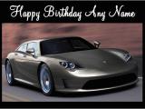 Porsche Birthday Card Porsche Panamera Birthday Card