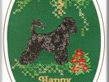 Portuguese Birthday Cards Portuguese Water Dog Birthday Card Embroidered by Dogmania