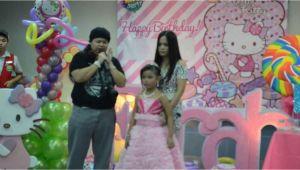 Prayer for 7th Birthday Girl Farah 39 S 7th Birthday Party Opening Prayer Youtube